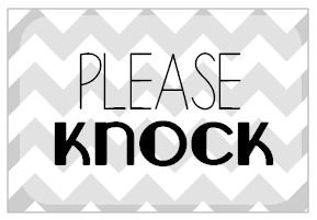 Please Knock Sign Related Keywords Please Knock Sign Long Tail