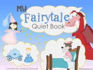 New! Printable Fairytale Quiet Book