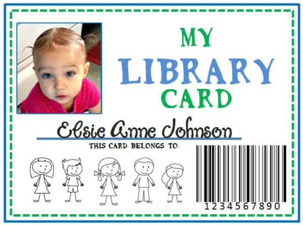 28+ [ How To Make Library Card ] | Library Card,Family Library Diy