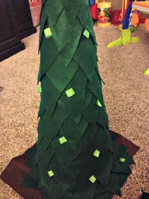 felt tree tutorial