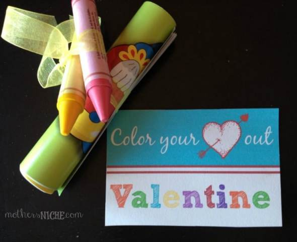 Super easy homemade valentine that kids will love