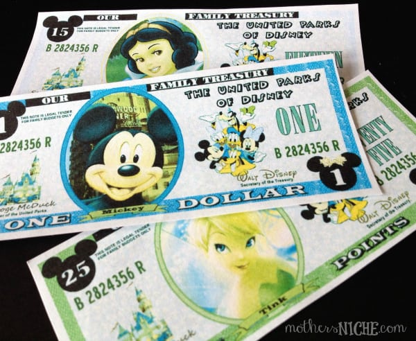 """Let your kids earn """"Disney Dollars"""" in prep for your trip"""