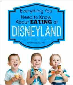 Tips for Eating at Disneyland