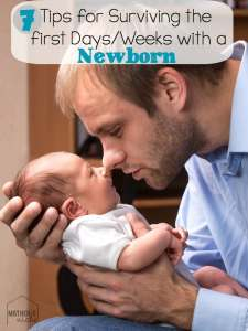7 Tips for Making the Transition easier for life with a newborn!