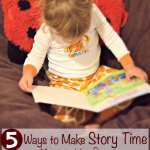These Story Time Ideas are so cute and creative (and even simple)