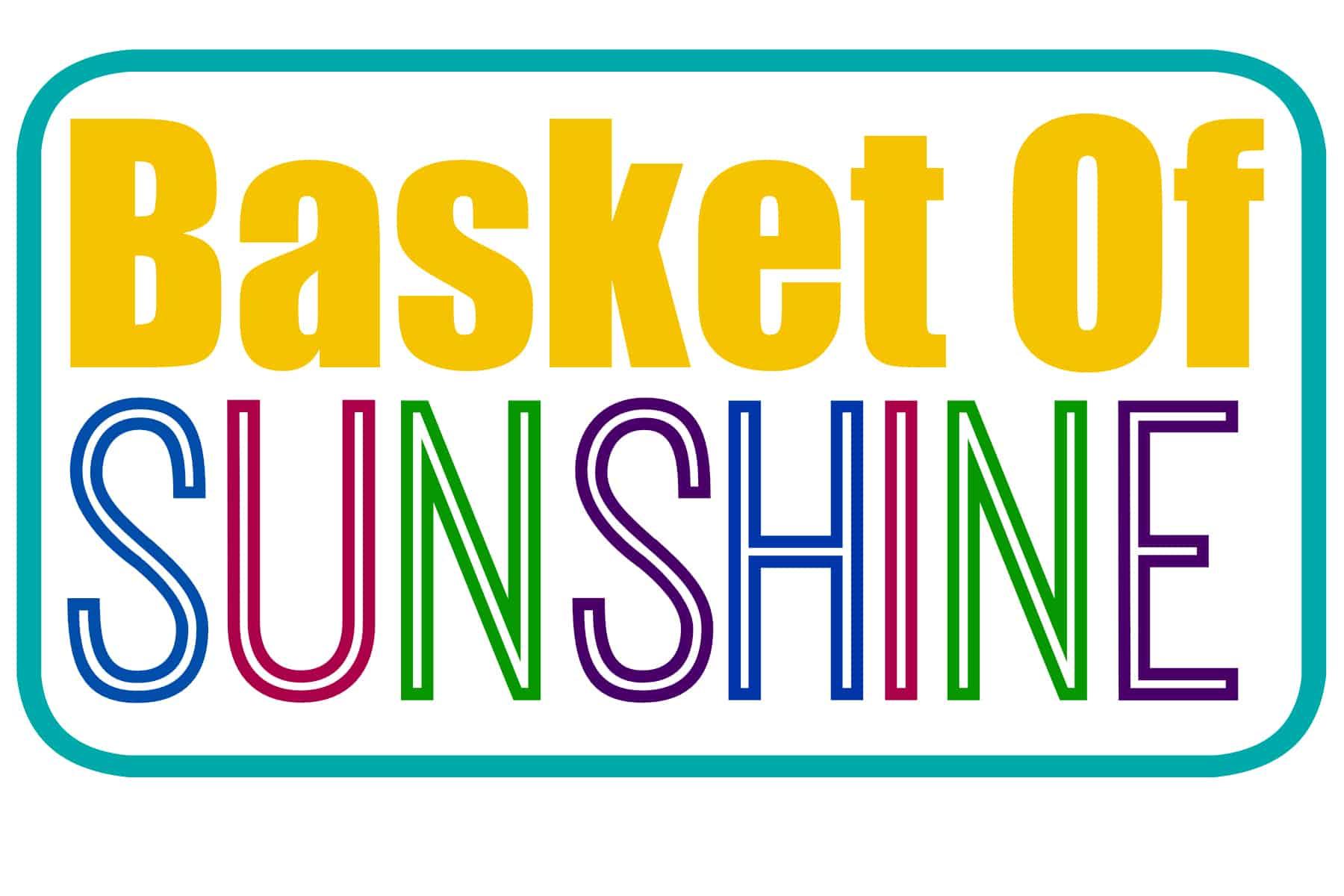 Transformative image in basket of sunshine printable