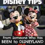 WOW! All the DIsneyland tips you will ever need! How to save money, what to eat, everything!