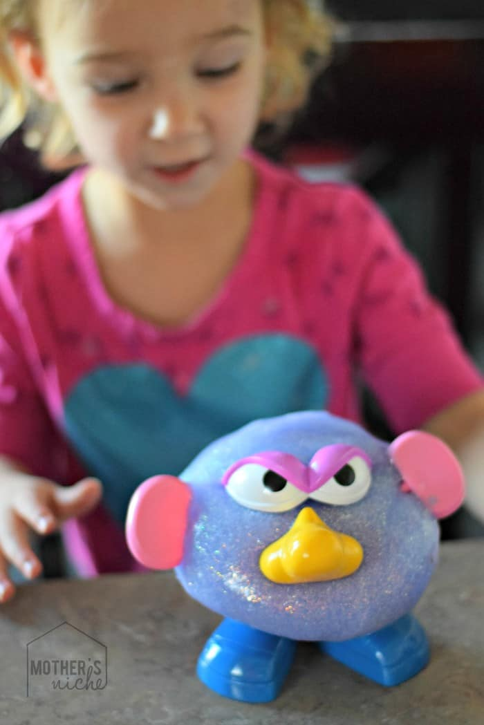 SLIME MONSTERS! Fun sensory activity
