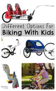 Different Options For Biking With Kids