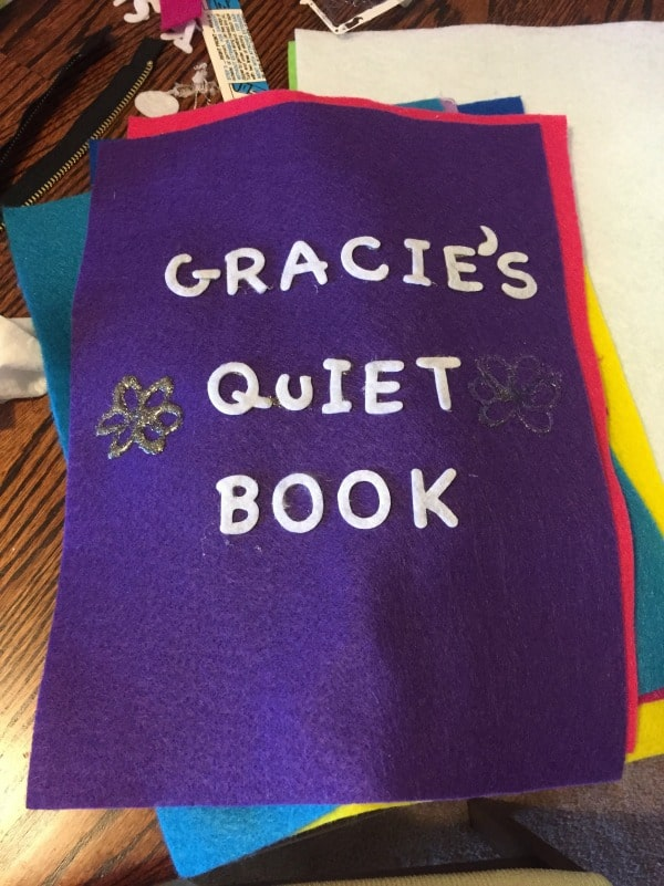 quiet book for the crafty impaired