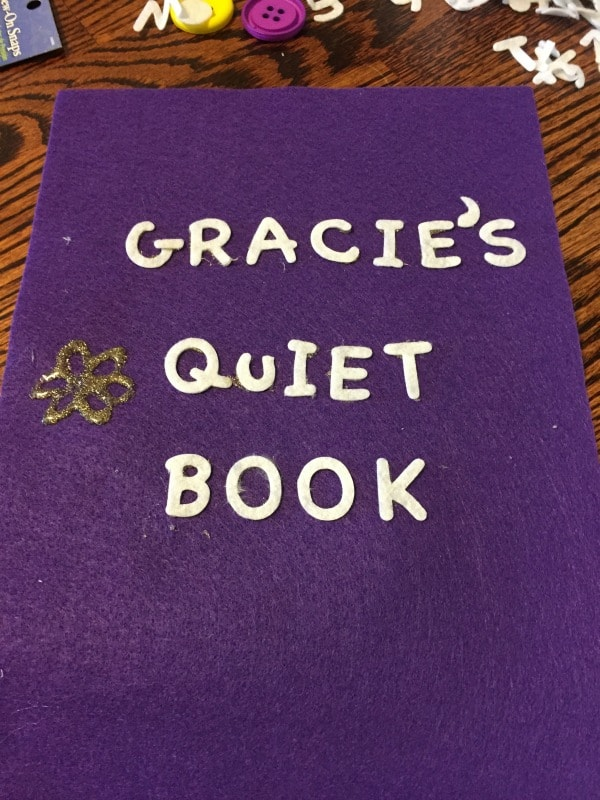 No-sew quiet book for the crafty impaired