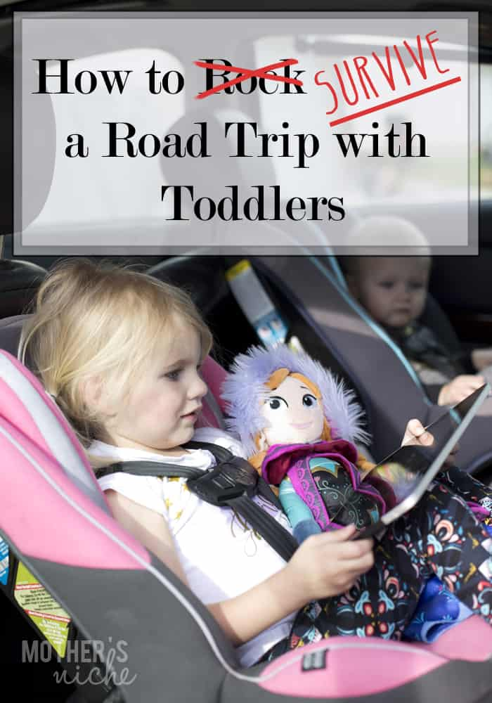 How to Survive a Road Trip with Toddlers