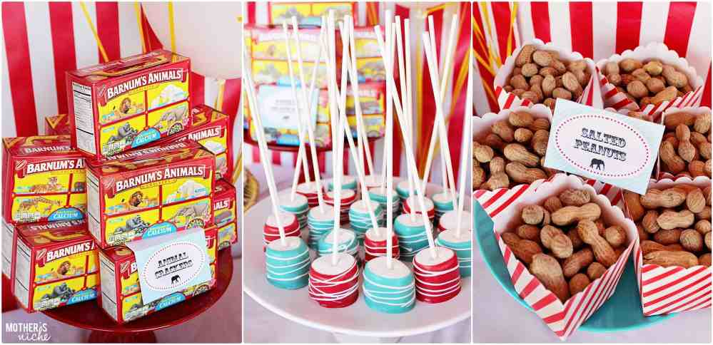 Sweet circus treats