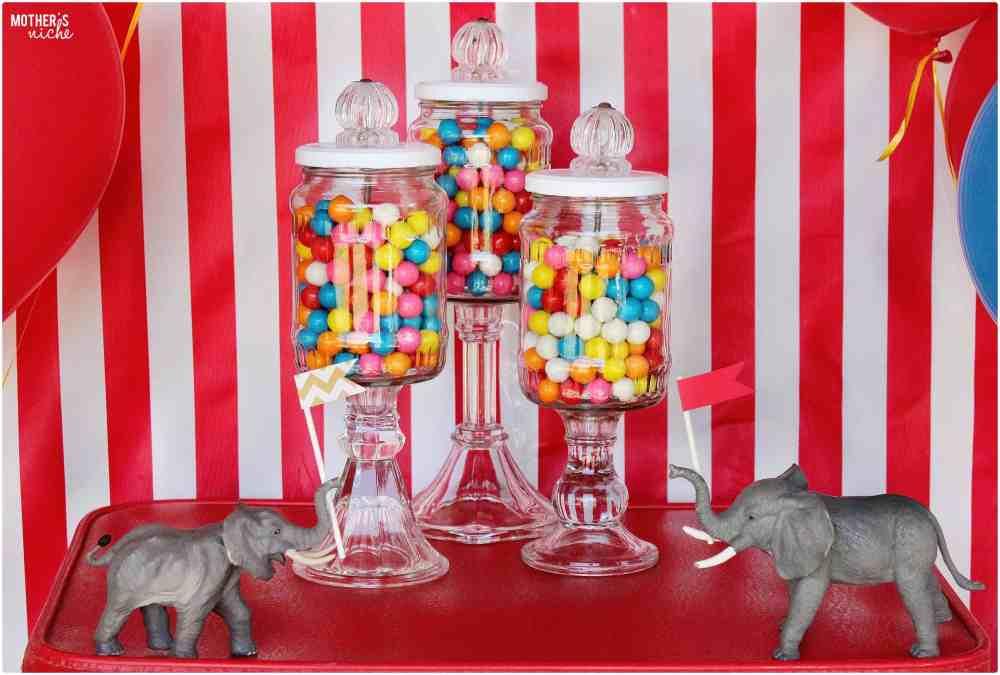Circus Party Gum balls