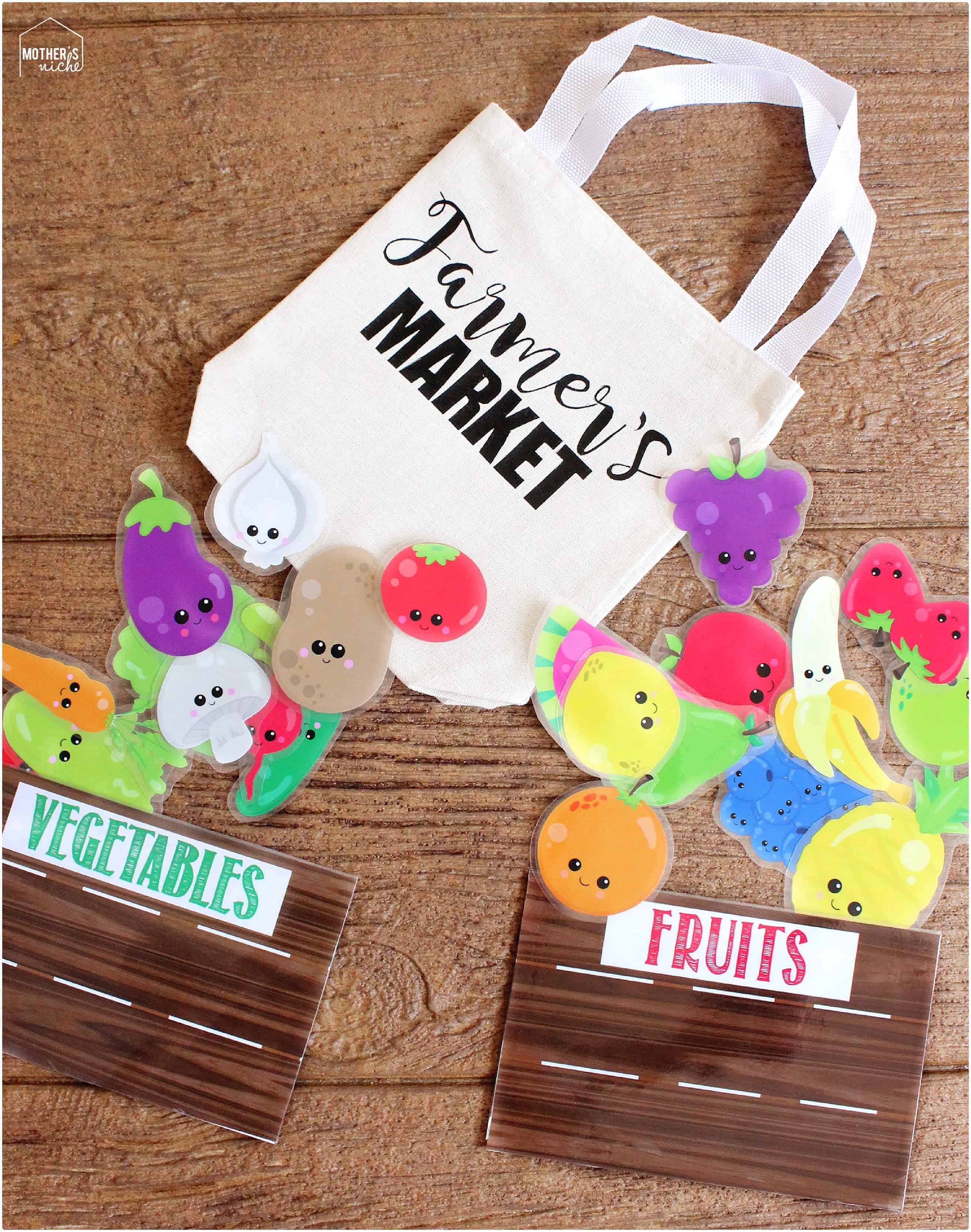 Farmer S Market Busy Bag Idea