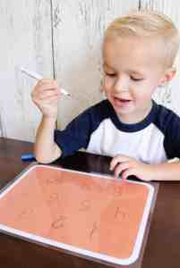 Tracing Games Busy Bag (Free Printables)