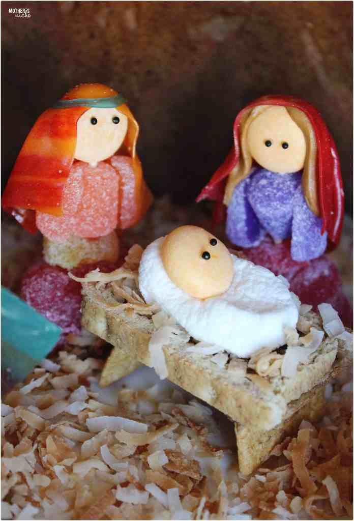 gingerbread nativity, and RECIPES for the best gingerbread and royal icing