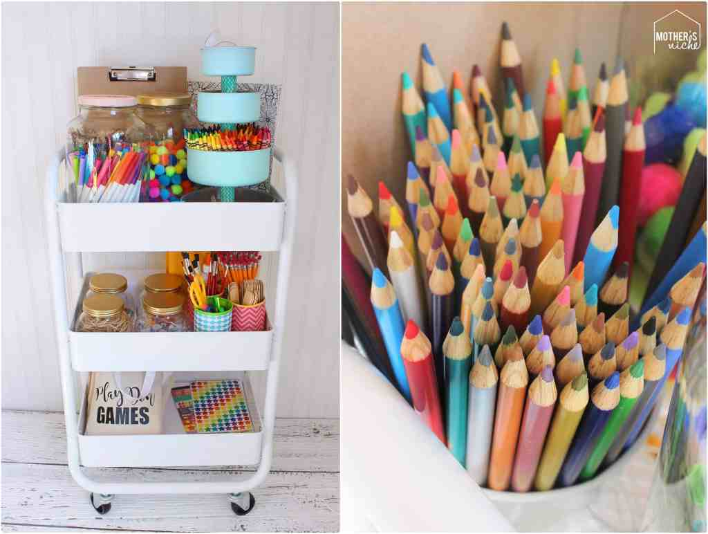 MAKE AN ART CART!