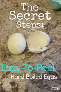 The Secret Steps to Easy-to-Peel Hard-Boiled Eggs