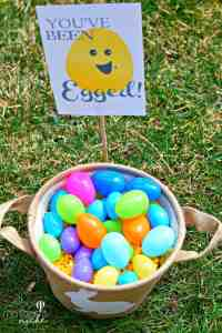 """You've Been Egged"" Easter Printable and Poem"