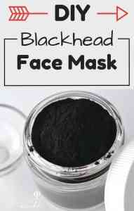 DIY Face mask recipe: How to Get Rid of Blackheads
