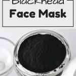 DIY Blackhead facial Mask. AWESOME way to get rid of blackheads!