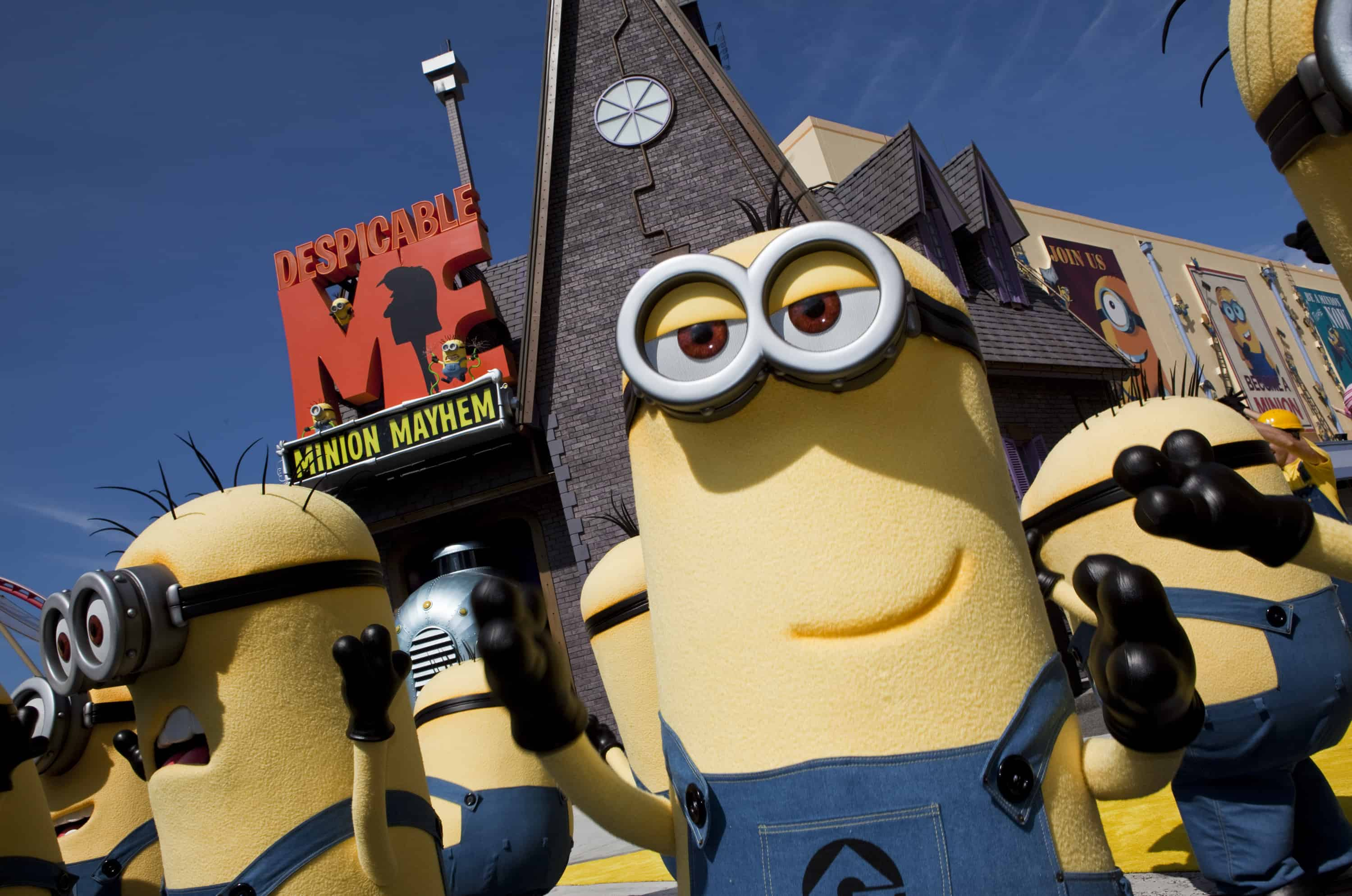 Despicable Me Minion Mayhem - Universal Studious Resort