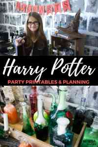 Celebrating at Hogwarts: Everything you need to throw a HARRY POTTER party PLUS tons of FREE PRINTABLES!
