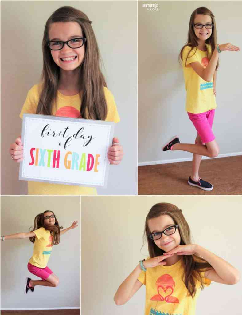 First Day of Kindergarten Signs, Plus Preschool and all the way to 12th grade