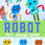 ROBOT Play Dough Games for kids