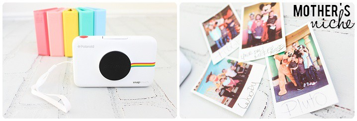 How to do Easy DIY Disneyland Autograph Books with a Polaroid