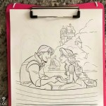 Where to find Printable Disney Coloring pages for FREE!