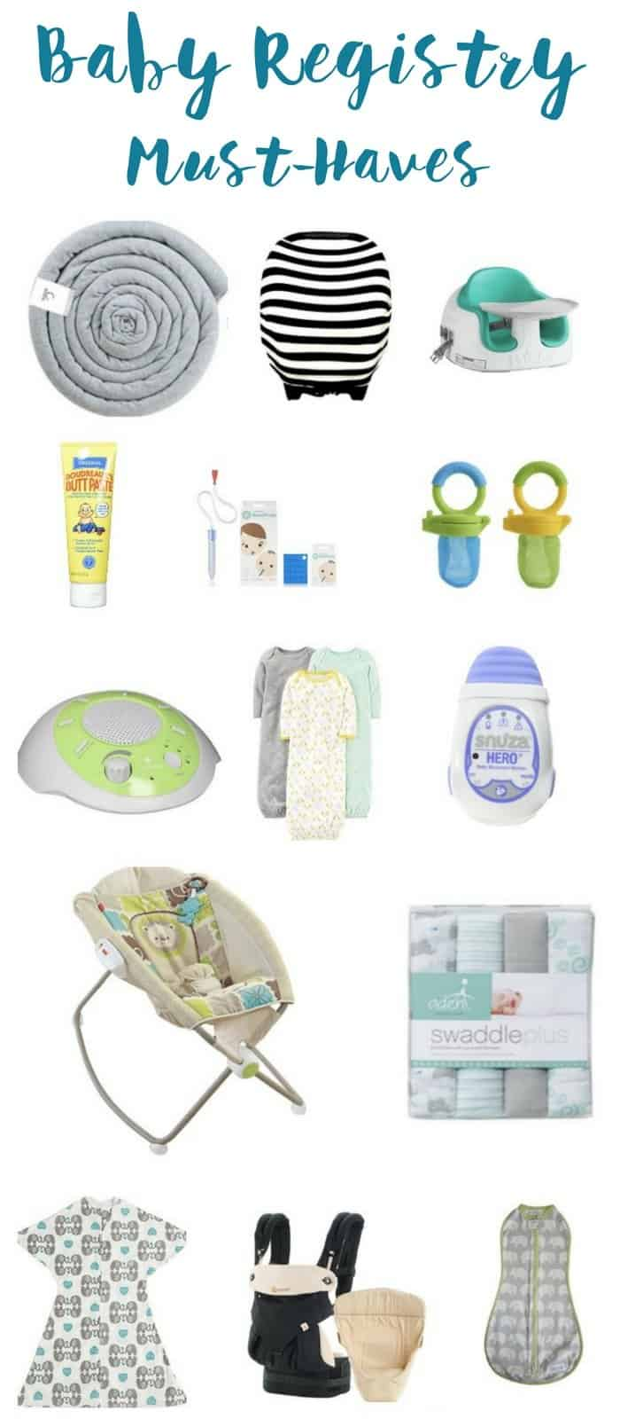 Baby Registry Must Haves: What to put on your Amazon Baby Registry