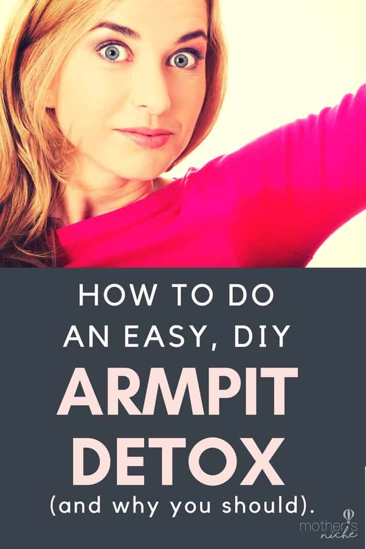 Check out the success women are having with this easy DIY Armpit Detox!