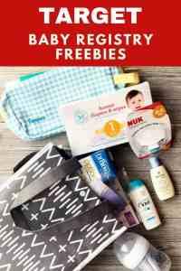 Target Baby Registry & Welcome Bag Freebies