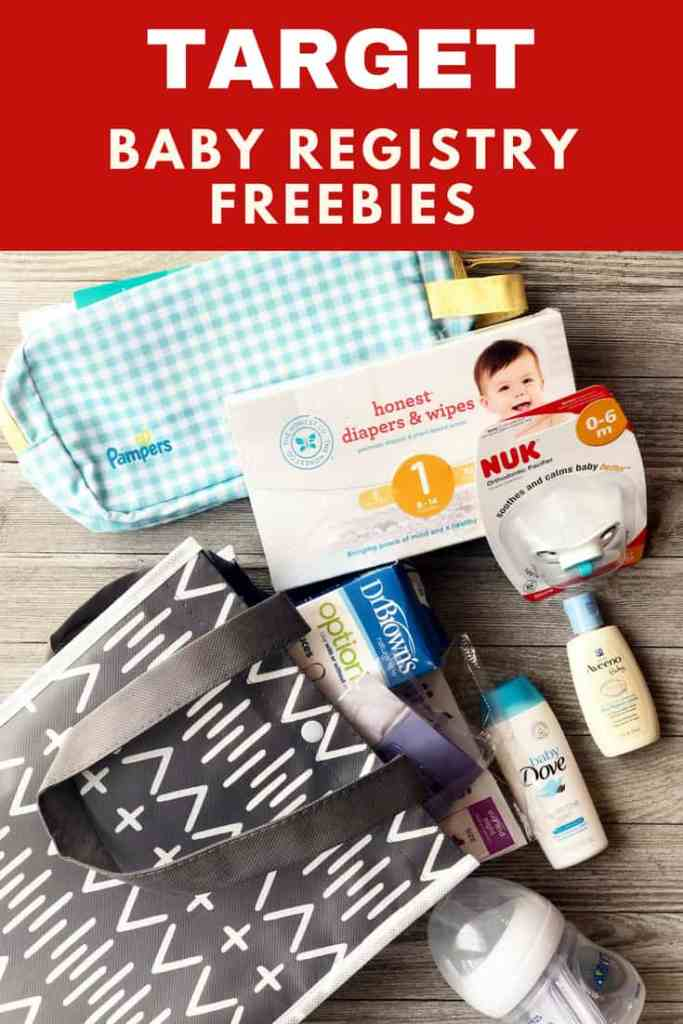 Target Baby Registry: the freebies you get with the Target Baby Registry Welcome Kit