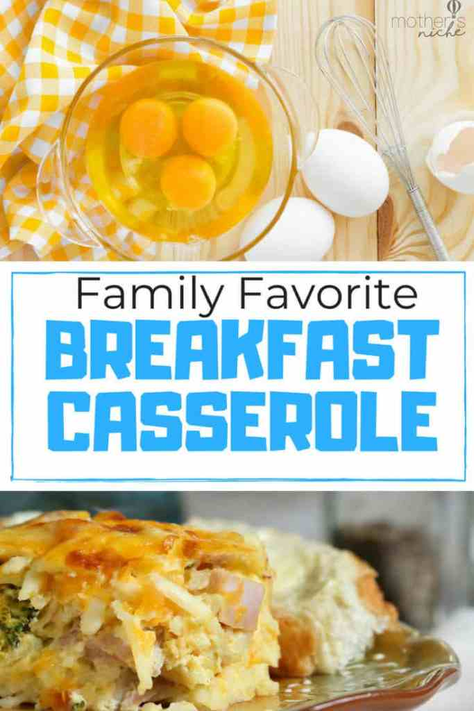 Every time I make this breakfast casserole someone asks for the recipe. It's really easy, and sooooo yummy