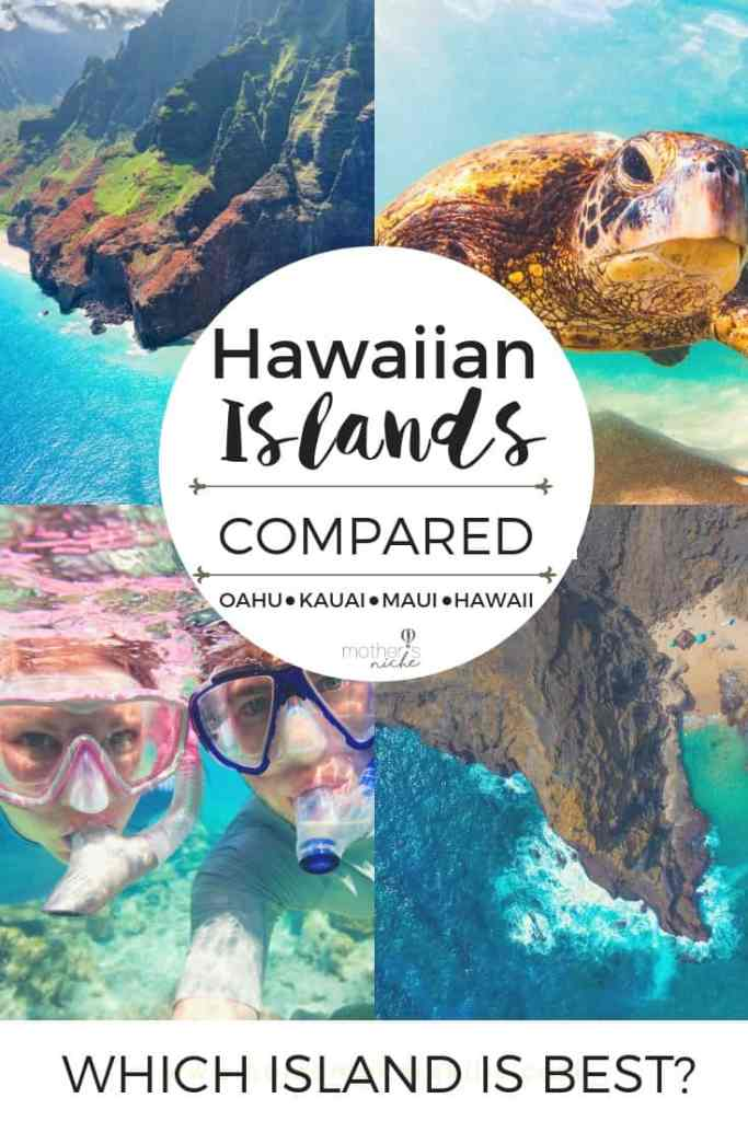 HAWAIIAN ISLANDS COMPARED: Which hawaiian island is best? Which is best for families? For a honeymoon?