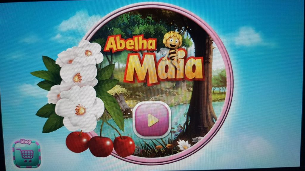 Abelha Maia educatiomal app in portugues and other languages (app educacional em portugues)