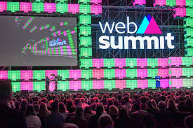 web summit in Lisbon