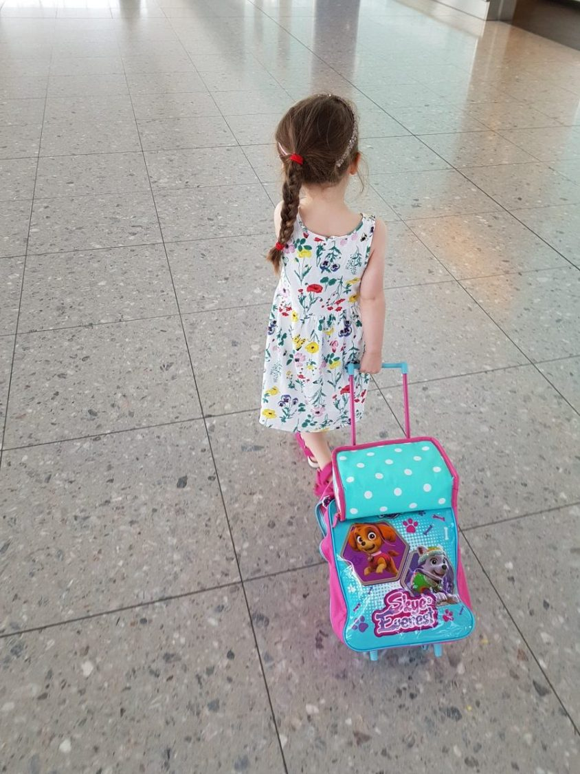 girl with suitcase - what now?
