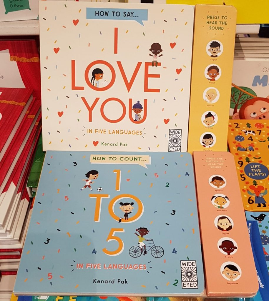 interactive language learning books for yourng children