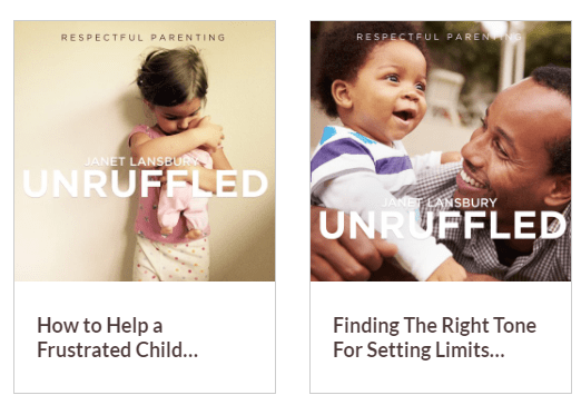 unruffled respectful parenting podcast