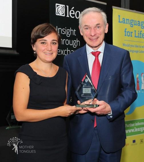 Dr Francesca La Morgia awarded the European Language Label for the Language Explorers initiative
