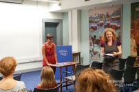 Language Explorers. Book launch at the Chester Beatty Library, 18th Sept 2018.Dr Francesca La Morgia and Blathnaid ni Ghreachain.