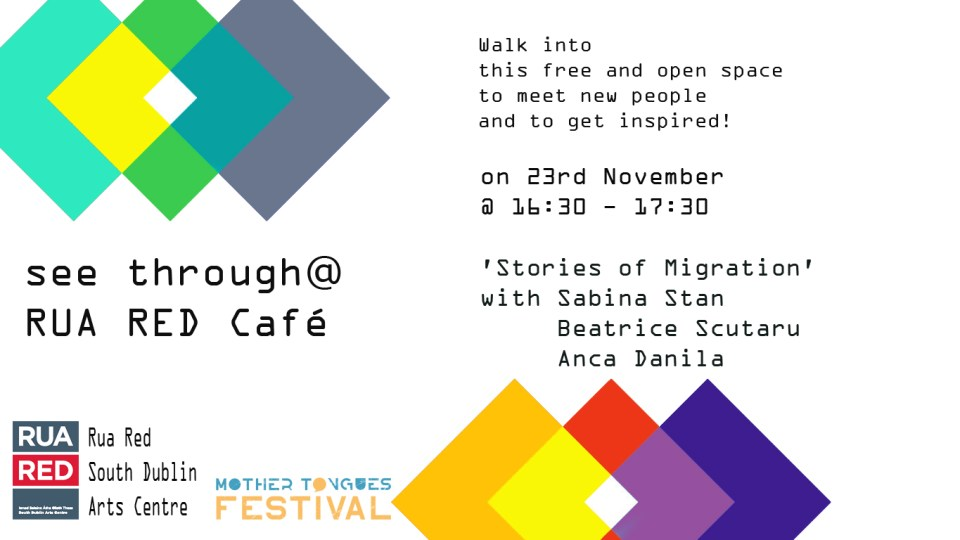 see through cafe 23rd Stories of migration