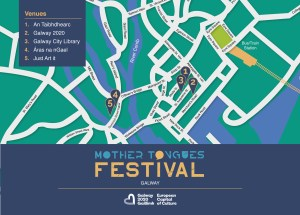 Mother Tongues Festival Galway Map
