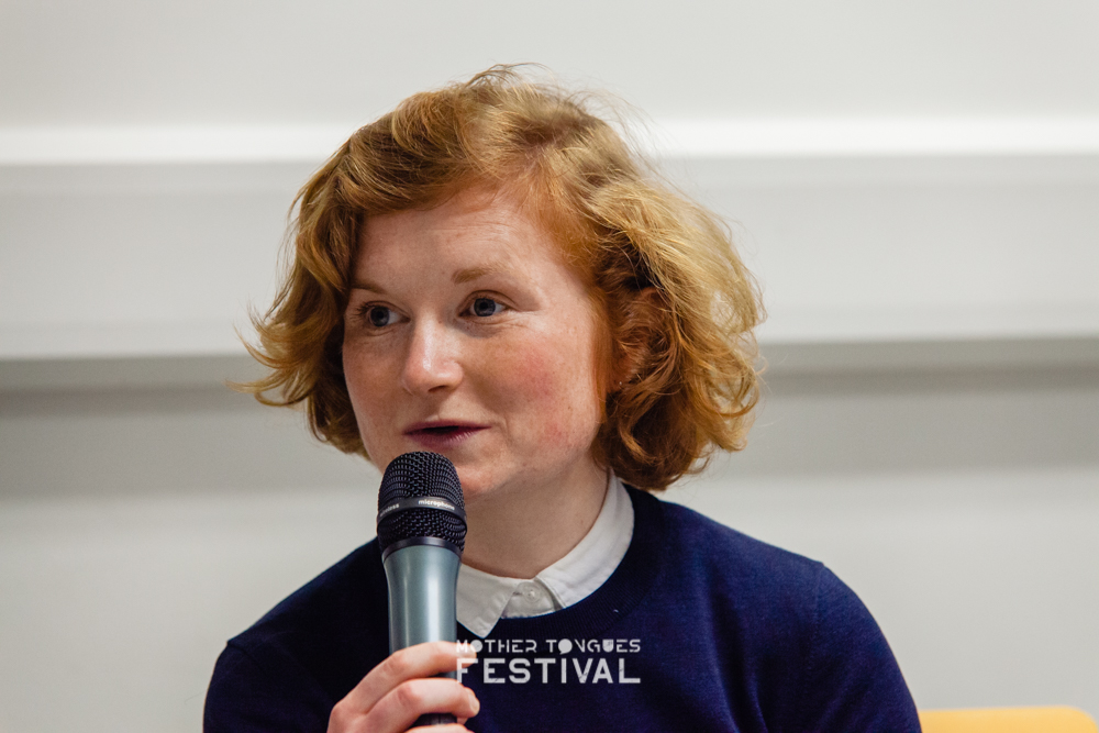 Mother Tongues Festival 2019. Tallaght, Áine Gallagher