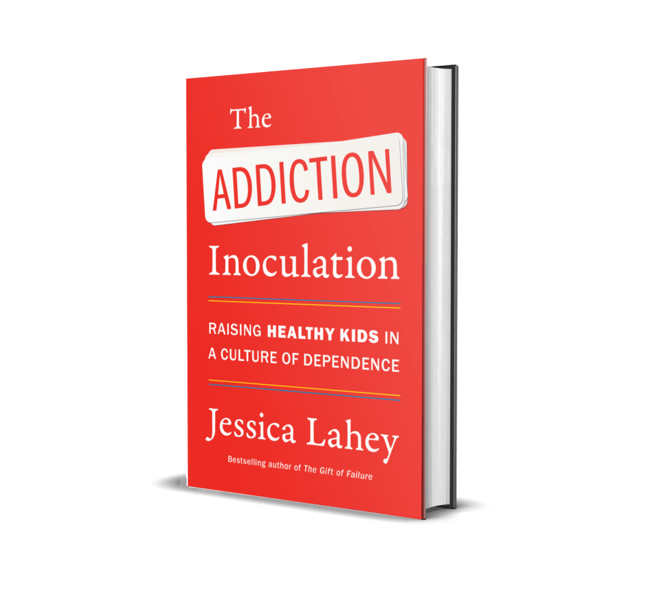 Book cover of The Addiction Inoculation
