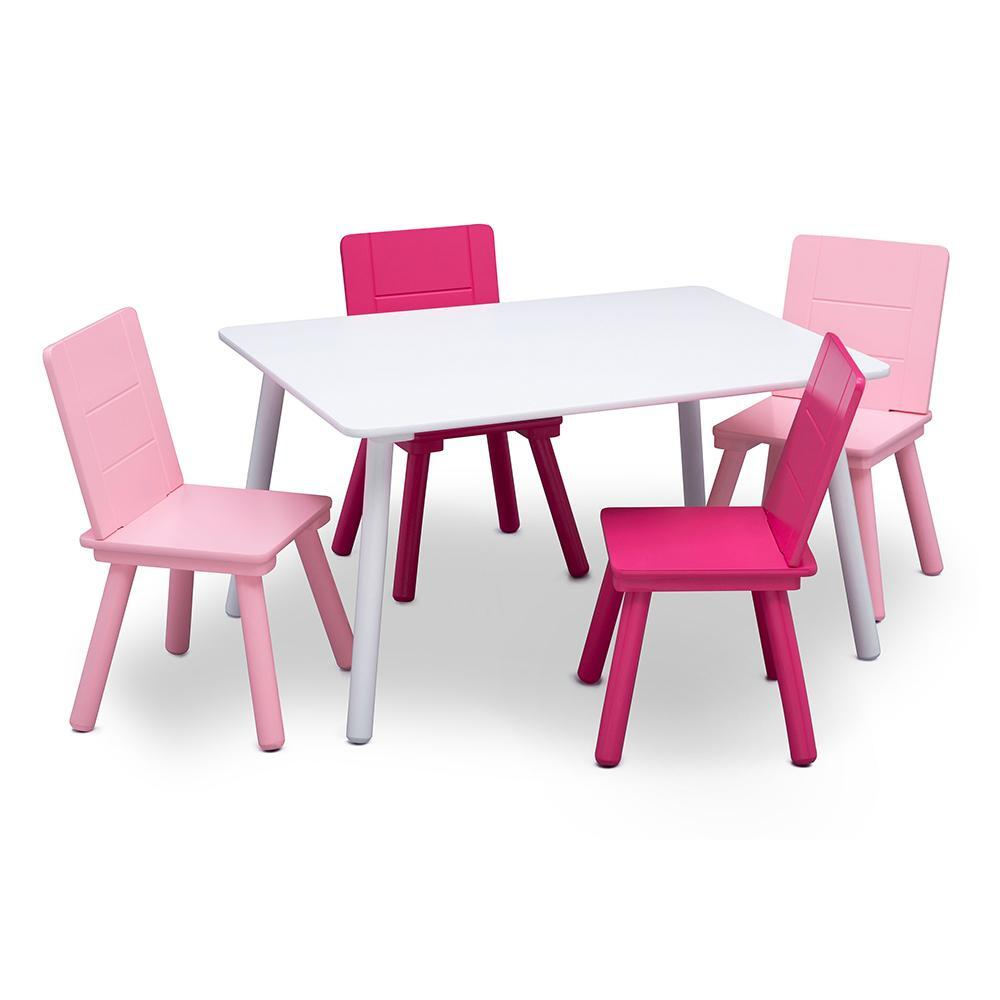 Infant Table And Chairs Delta Children Kids Table And Chairs Set Pink